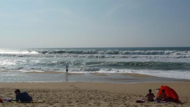 Surf report FR, Cap-Ferret - Plage de L'Horizon (33) du 2008-09-15 12:00:00