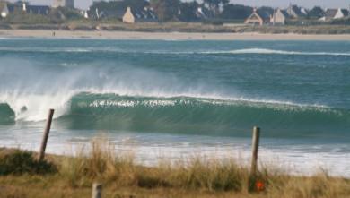Surf report FR, Pors Carn (29) du 2008-09-23 12:00:00