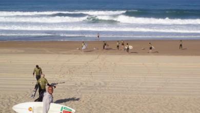 Surf report FR, Seignosse - Les Casernes (40) du 2008-09-24 12:00:00