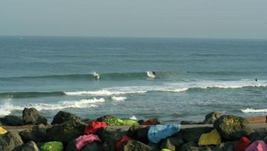Surf report FR, Anglet Sables d'Or (64) du 2008-09-27 12:00:00