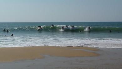Surf report FR, Cap-Ferret - Plage de L'Horizon (33) du 2008-09-27 12:00:00