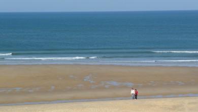 Surf report FR, Cap-Ferret - Plage de L'Horizon (33) du 2008-09-28 12:00:00