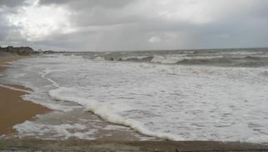 Surf report FR, Le Menhir (14) du 2008-10-02 12:00:00