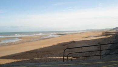 Surf report FR, Le Menhir (14) du 2008-10-04 12:00:00