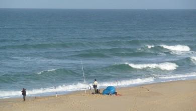 Surf report FR, Cap-Ferret - Plage de L'Horizon (33) du 2008-10-05 12:00:00