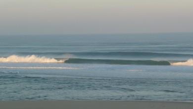 Surf report FR, Cap-Ferret - Plage de L'Horizon (33) du 2008-10-10 12:00:00