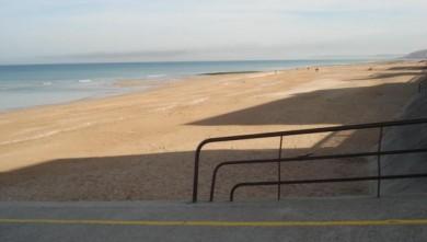 Surf report FR, Le Menhir (14) du 2008-10-10 12:00:00