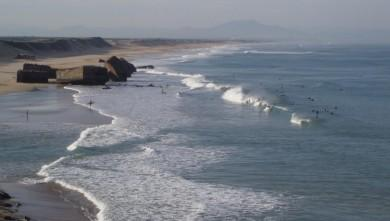 Surf report FR, Capbreton - Les Digues (40) du 2008-10-11 12:00:00