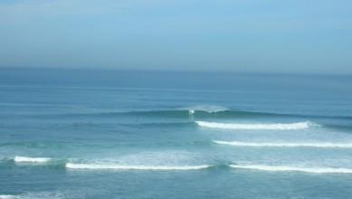 Surf report FR, Guethary Parlementia (64) du 2008-10-11 12:00:00
