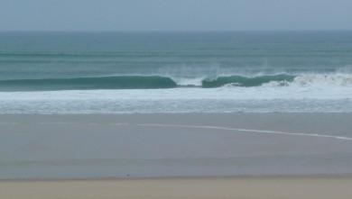 Surf report FR, Cap-Ferret - Plage de L'Horizon (33) du 2008-10-12 12:00:00