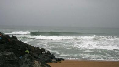 Surf report FR, Anglet Sables d'Or (64) du 2008-10-14 12:00:00