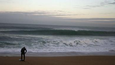 Surf report FR, Anglet Sables d'Or (64) du 2008-10-17 12:00:00