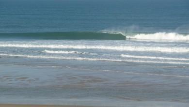 Surf report FR, Cap-Ferret - Plage de L'Horizon (33) du 2008-10-17 12:00:00