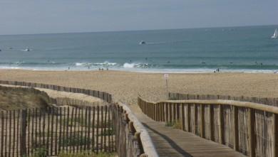 Surf report FR, Hossegor - La Nord (40) du 2008-10-17 12:00:00