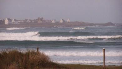 Surf report FR, Pors Carn (29) du 2008-10-22 12:00:00