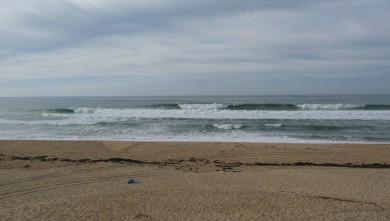 Surf report FR, Cap-Ferret - Plage de L'Horizon (33) du 2008-10-24 12:00:00