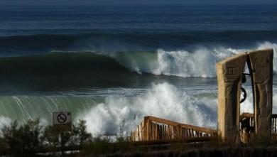 Surf report FR, Hossegor - La Nord (40) du 2008-10-26 12:00:00