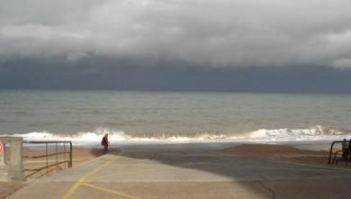 Surf report FR, Le Menhir (14) du 2008-10-27 12:00:00