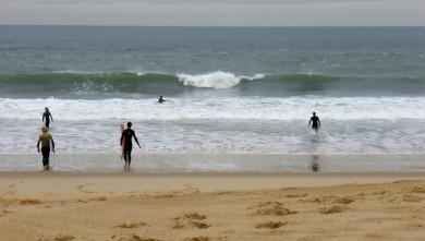Surf report FR, Hossegor - La Nord (40) du 2008-10-29 12:00:00