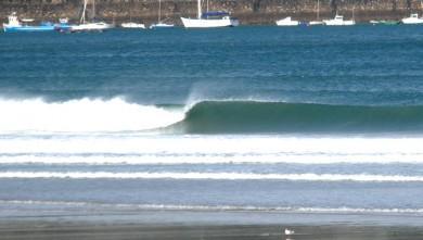 Surf report FR, Hendaye (64) du 2008-10-30 12:00:00