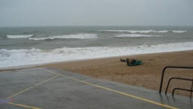 Surf report FR, Le Menhir (14) du 2008-11-01 12:00:00