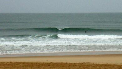 Surf report FR, Seignosse - Les Casernes (40) du 2008-11-02 12:00:00