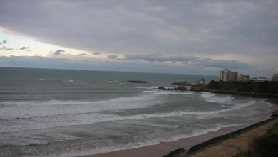 Surf report FR, Côte des Basques (64) du 2008-11-29 12:00:00