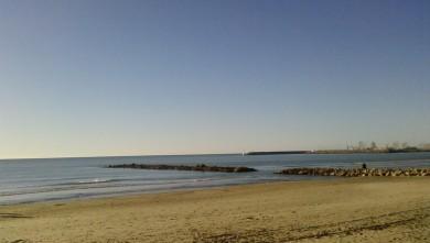 wave report FR, Palavas-les-Flots - Rive Droite (34) du 2008-01-19 12:00:00
