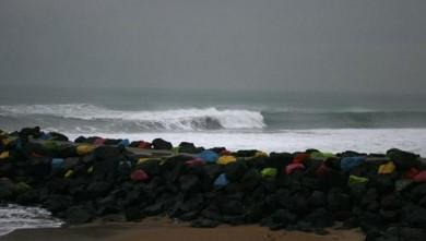 Surf report FR, Anglet Sables d'Or (64) du 2008-01-25 12:00:00