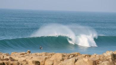 wave report FR, La Torche (29) du 2008-02-09 12:00:00