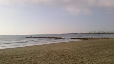 Surf report FR, Palavas-les-Flots - Rive Droite (34) du 2008-02-09 12:00:00