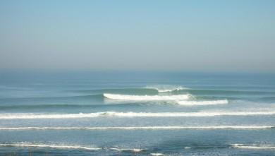 Surf report FR, Guethary Parlementia (64) du 2008-02-11 12:00:00
