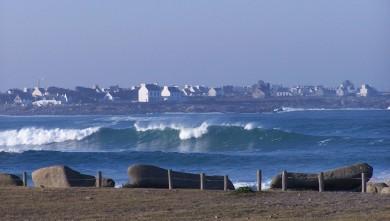 Surf report FR, Pors Carn (29) du 2008-02-11 12:00:00