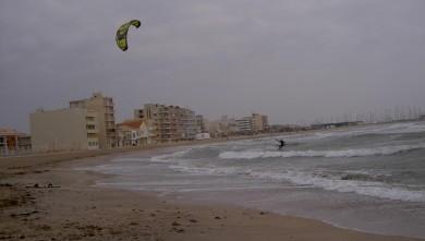 Surf report FR, Palavas-les-Flots - Rive Droite (34) du 2008-02-17 12:00:00