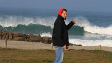 Surf report FR, La Torche (29) du 2008-02-25 12:00:00