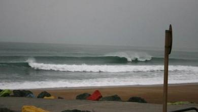 wave report FR, Anglet Sables d'Or (64) du 2008-03-15 12:00:00