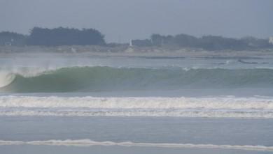 Surf report FR, Pors Carn (29) du 2008-04-03 12:00:00