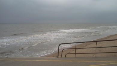 Surf report FR, Le Menhir (14) du 2008-04-05 12:00:00
