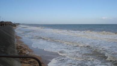 Surf report FR, Le Menhir (14) du 2008-04-07 12:00:00
