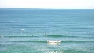 Surf report FR, Guethary Parlementia (64) du 2008-04-15 12:00:00