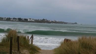 Surf report FR, Pors Carn (29) du 2008-04-20 12:00:00
