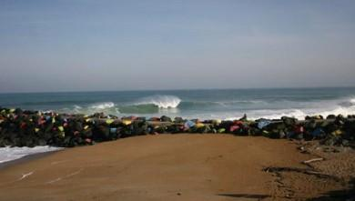 Surf report FR, Anglet Sables d'Or (64) du 2008-04-25 12:00:00