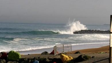 Surf report FR, Anglet Sables d'Or (64) du 2008-04-27 12:00:00