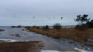 wind report FR, Hourtin - Lachanau (33) du 2009-03-10 16:00:00