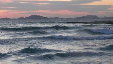 Surf report FR, Le Prado (13) du 2009-03-25 17:00:00