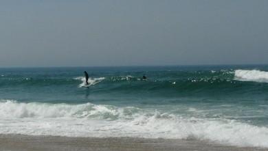 Surf report FR, Vieux Boucau (40) du 2009-04-23 13:00:00