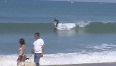 Surf report FR, Plage des Dunes (85) du 2009-05-29 17:00:00