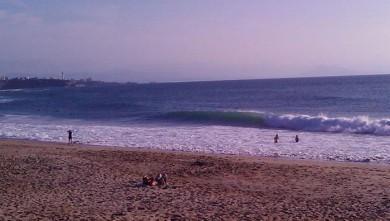 Surf report FR, Anglet Les Cavaliers (64) du 2009-07-05 20:00:00