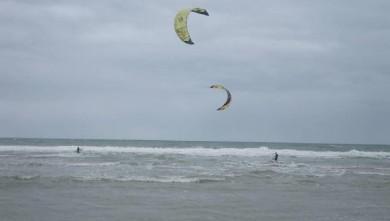 Wind report FR, Lacanau Océan - La Sud (33) du 2009-07-18 16:00:00
