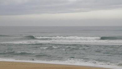 Surf report FR, Vieux Boucau (40) du 2009-08-03 14:00:00